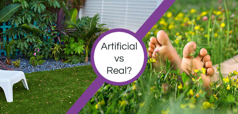 Artificial grass or real?