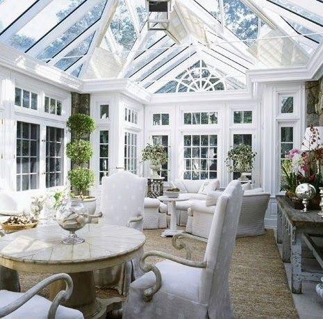 conservatory tea room