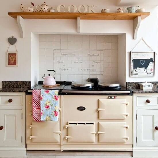 country kitchen aga