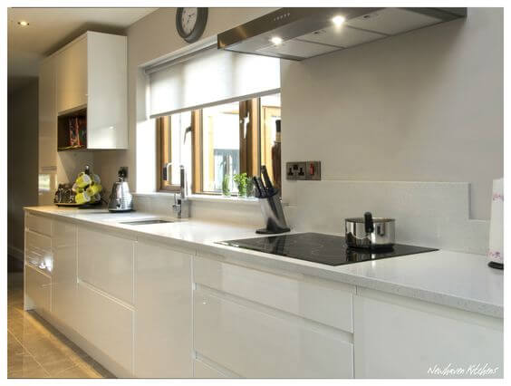 handleless kitchen units
