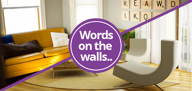Words on the walls Homes to Inspire