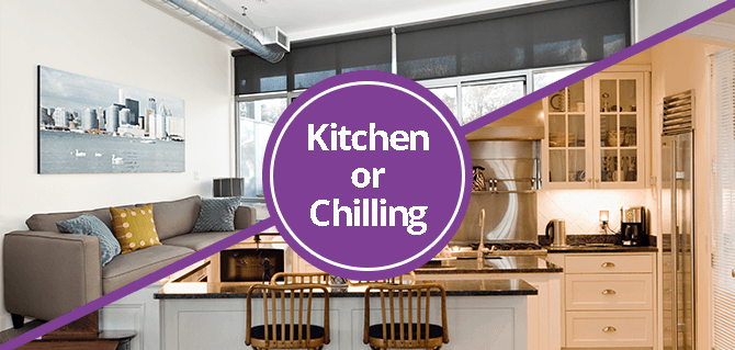 Kitchen or chilling Homes to Inspire